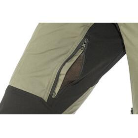 Lundhags Makke Spodnie długie Kobiety short czarny/oliwkowy